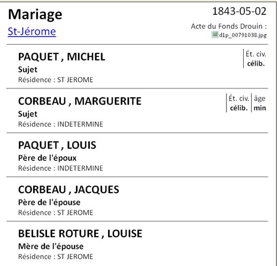 Michel Paquet Mariag61