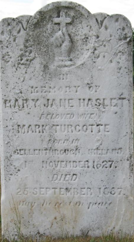 Marc Turcotte et Jane Haslet  Monume10