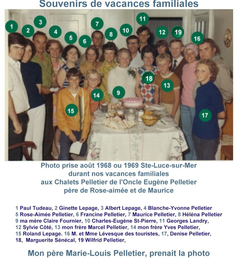 Famille Thomas Pelletier et Marie-Blanche Dumas - Souvenirs partagés par Denise Vacanc11