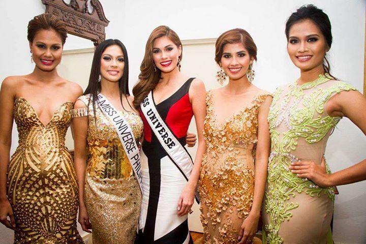 Gabriela Isler at the Bb. Pilipinas 2014 Crowning 10174910
