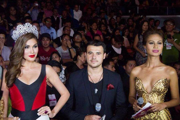 Gabriela Isler at the Bb. Pilipinas 2014 Crowning 17986510