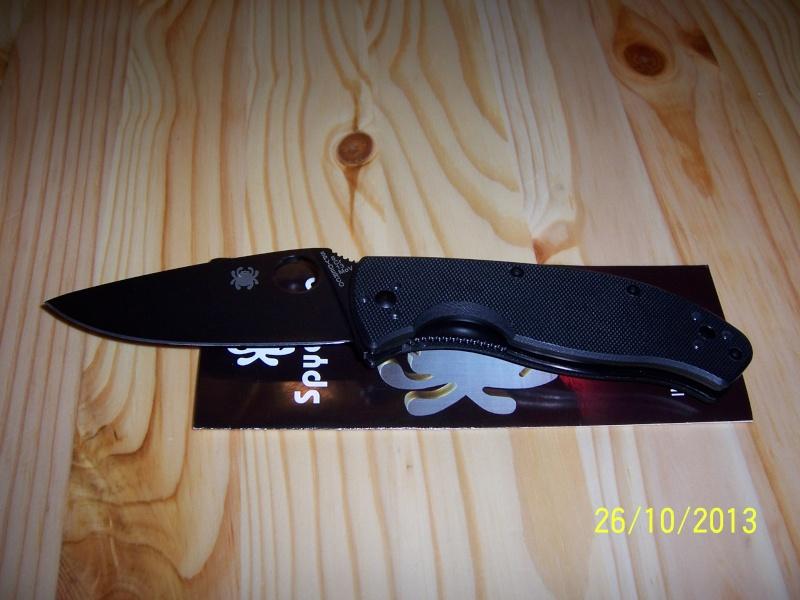 [REVIEW] couteau pliant Spyderco Military Ti (C36TI) 100_7110