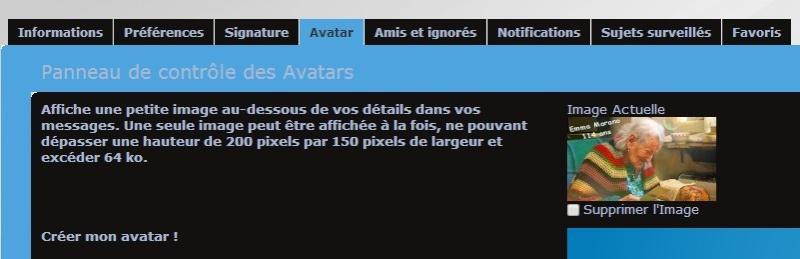 4- Comment se créer un avatar personnel ? Avatar15
