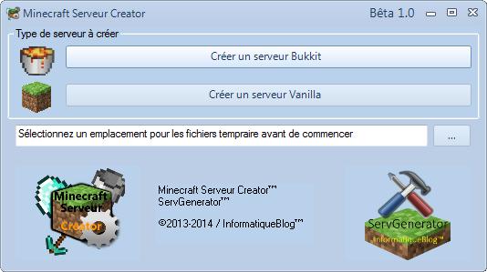MineServ Creator 2.4 (3.0 en DEV ...) - Page 3 Captur12