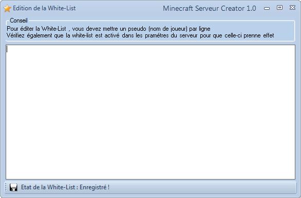 MineServ Creator 2.4 (3.0 en DEV ...) - Page 3 Captur19