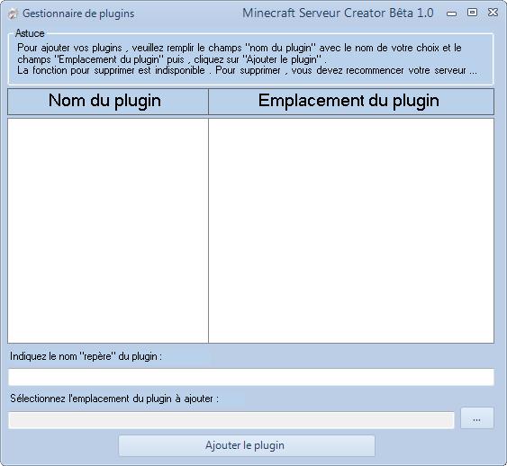 MineServ Creator 2.4 (3.0 en DEV ...) - Page 5 Captur24
