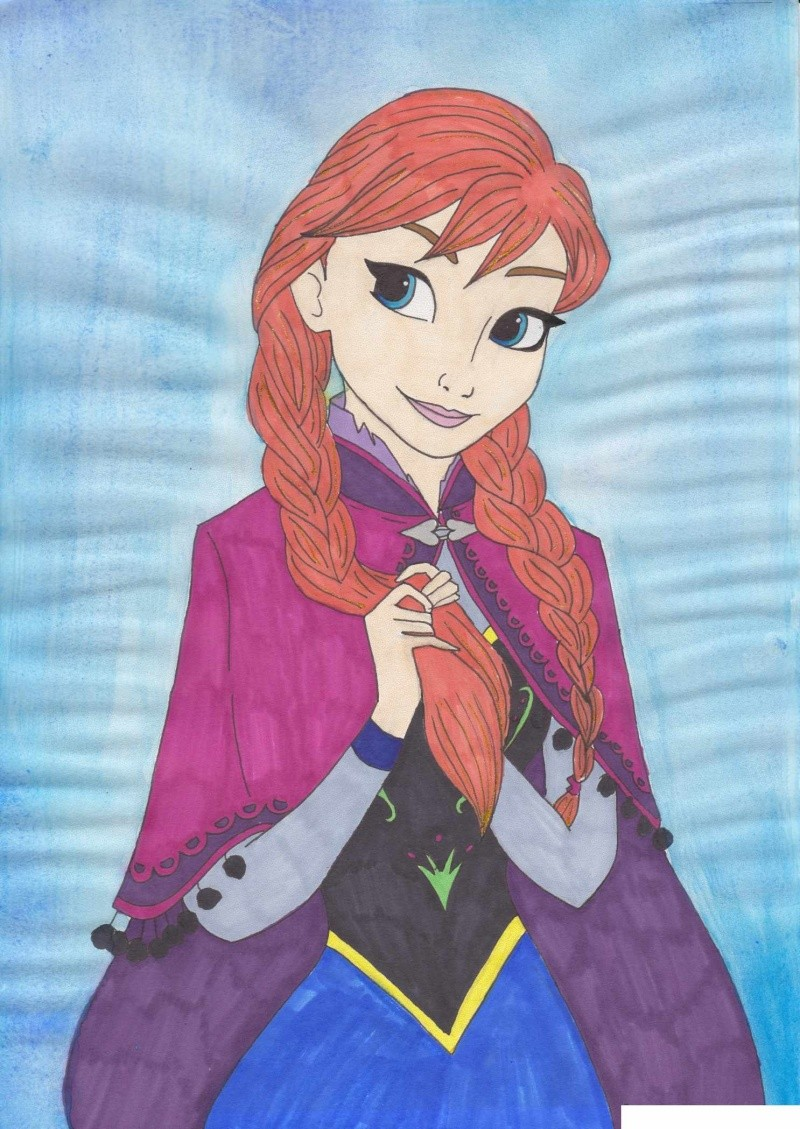 Fan Arts La Reine Des Neiges Page 20