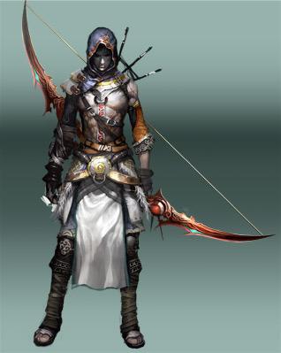 Gardes et Archers du Mona. Archer10
