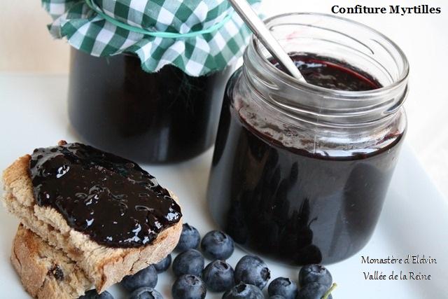 Nos Tartes aux Fruits / Confiture Myrtilles / Miel Confit10