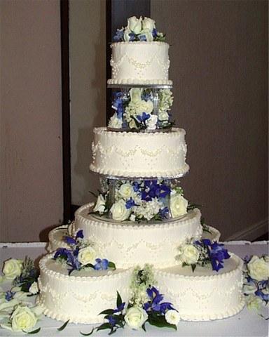 Gâteau et figurine des mariés Gateau10
