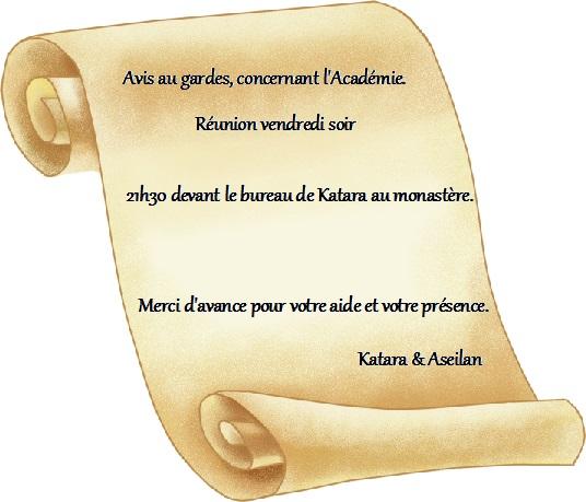 Panneau d'Affichage du réfectoire. Reunio10