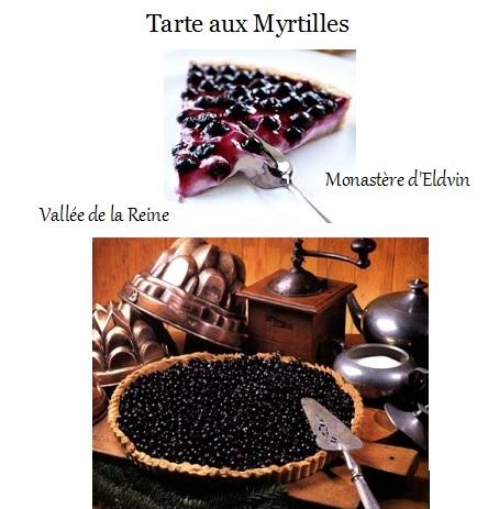 Nos Tartes aux Fruits / Confiture Myrtilles / Miel Tarte_11