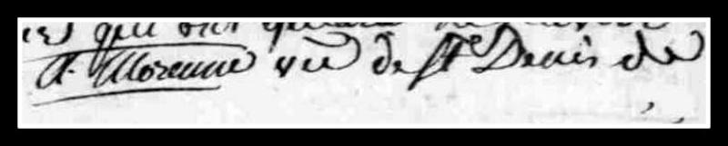 curé - Recherches sur l'abbé Morennes, curé de Saint-Mars-la-Réorthe... Signat19