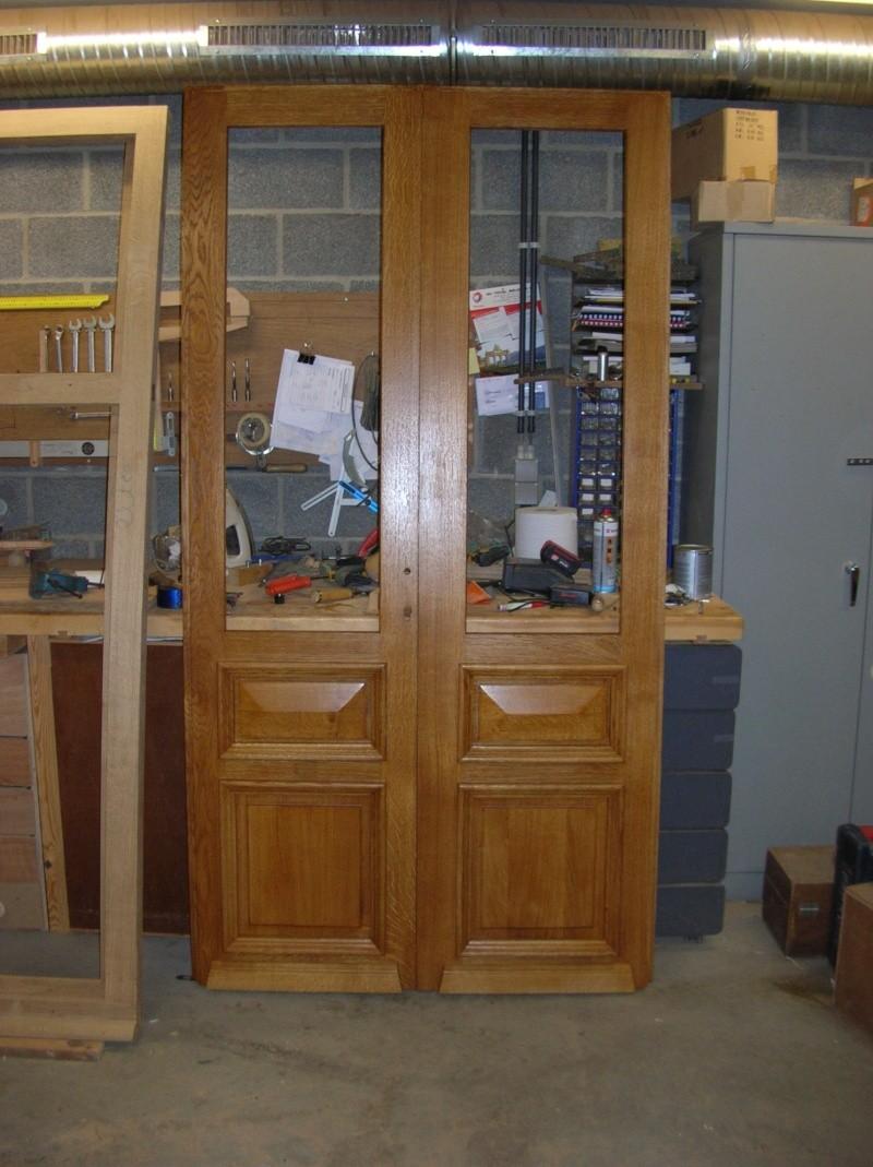 double porte en chêne Portes11