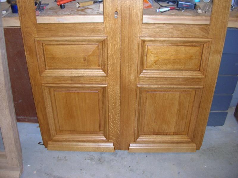 double porte en chêne Portes12