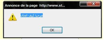 كود ظهور رسالة ترحيب عند فتح الصفحة و رسالة وداع عند إغلاقها Java_b10
