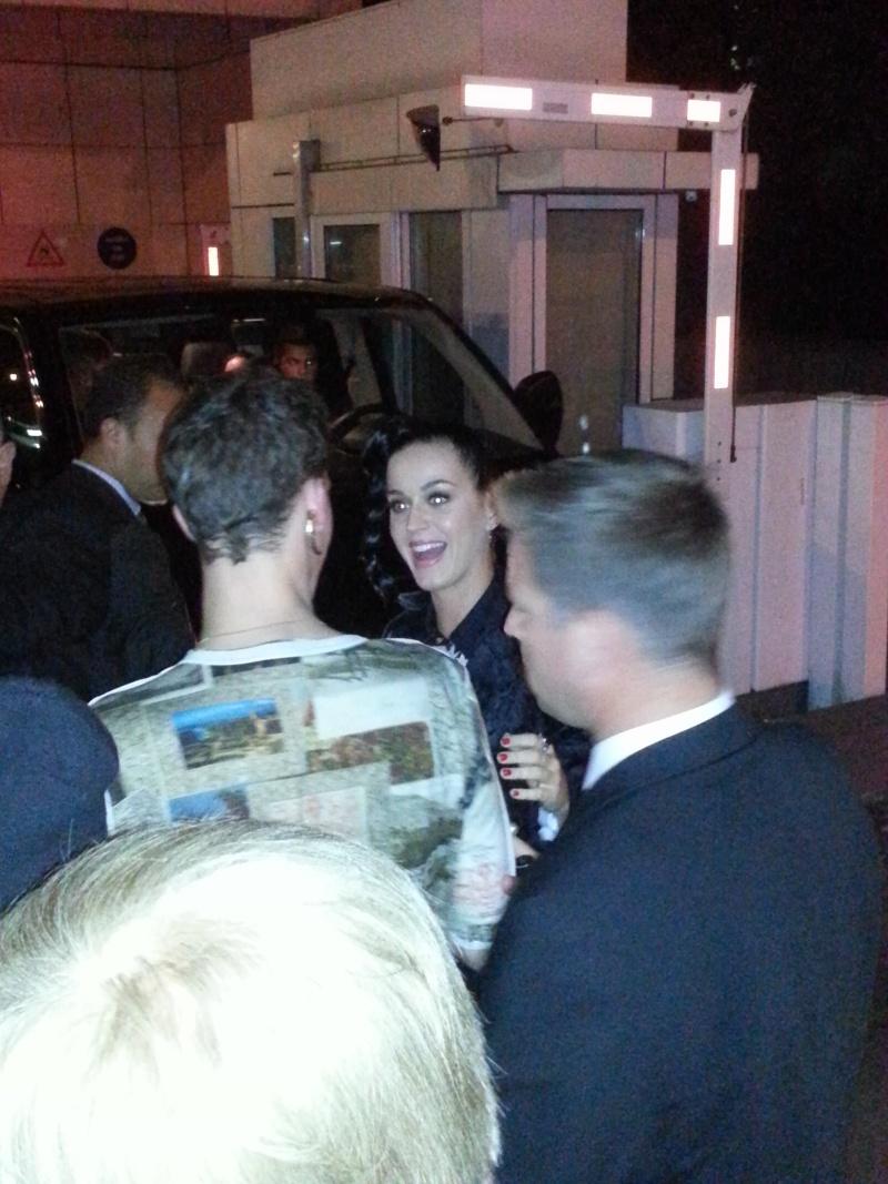 J'ai rencontré Katy le 2 octobre après le Grand Journal !!!! 20131013