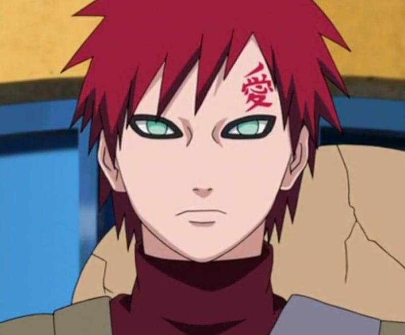 Abecedario anime [Personajes+imagen] Gaara14
