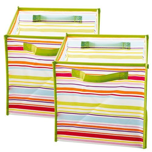 Chambre garçon turquoise et vert anis Cubes-11
