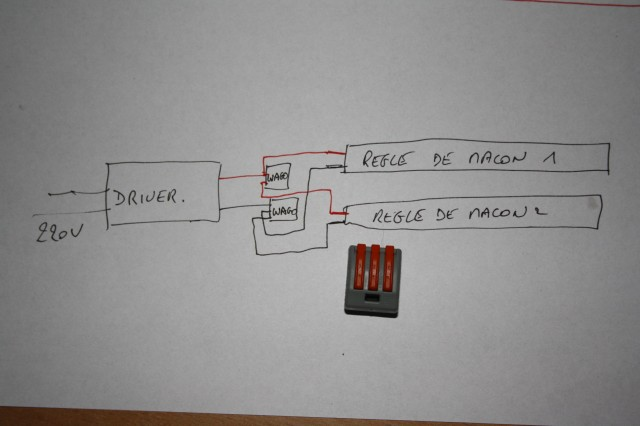 Fabrication d'une rampe LED, bon marché. Img_2862