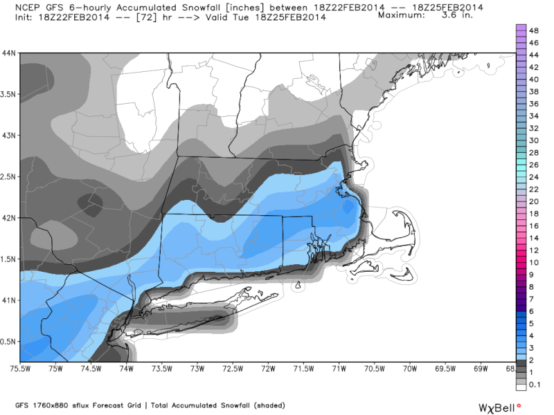 02/24 Possible Snow Wave  - Page 3 18z_gf10