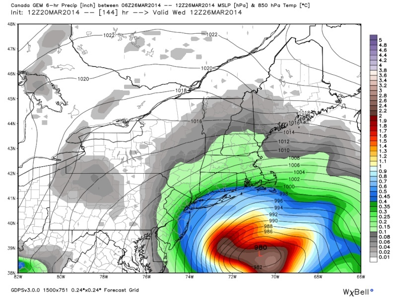 *BLOG* (page 13) March 25th-26th Possible Coastal Storm Cmc10