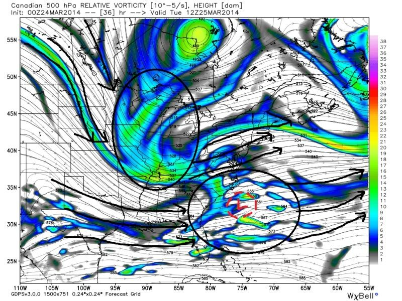 March 25th Glancing Blow Storm, 1st Call Snow Map - Page 2 Cmc_fi10