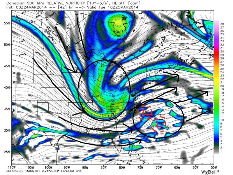 March 25th Glancing Blow Storm, 1st Call Snow Map - Page 2 Cmc_fi12