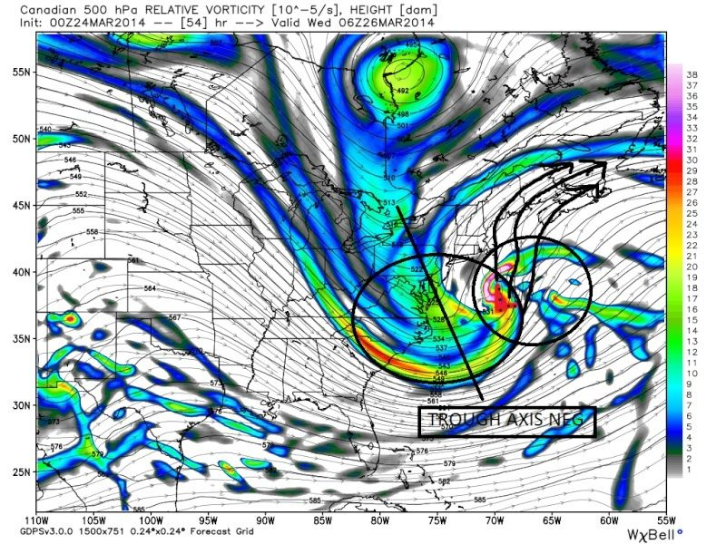 March 25th Glancing Blow Storm, 1st Call Snow Map - Page 2 Cmc_fi14