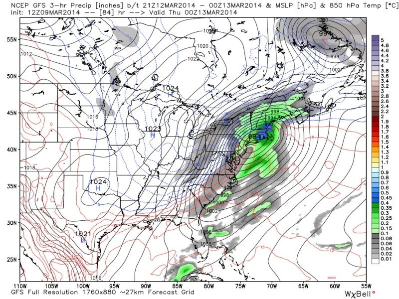 BLOG: March 12th-13th Potential Snowstorm, Discussion Thread 1.0 - Page 6 Gfs_0011