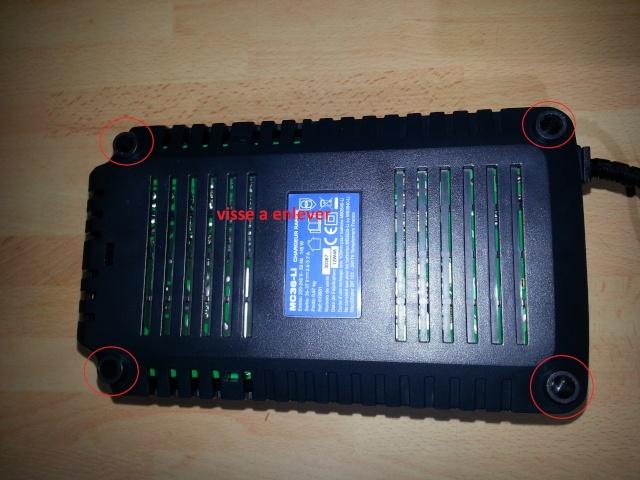 """""""TUTO""""Pose de batterie MAC ALLISTER lithium 36 volt 4amp de chez casto sur nos jouet  20140110"""