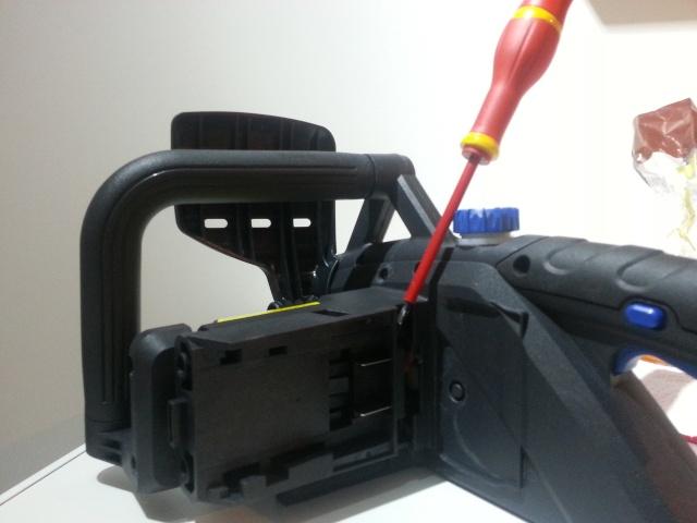 """""""TUTO""""Pose de batterie MAC ALLISTER lithium 36 volt 4amp de chez casto sur nos jouet  20140120"""