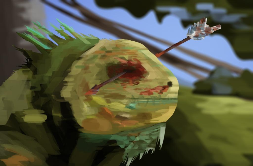 SpeedPaint Haiku - Page 2 Lizard10