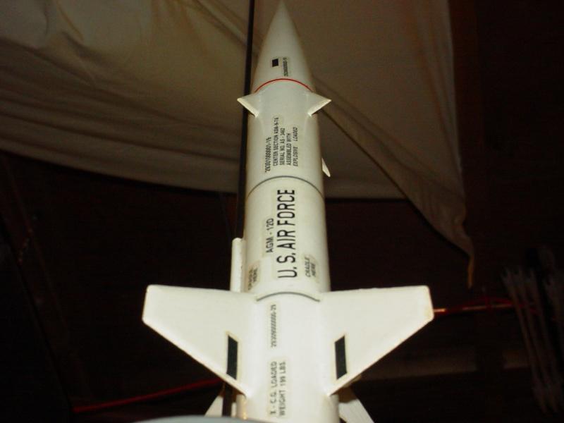 Estes Bullpup 12D model rocket Dsc00828
