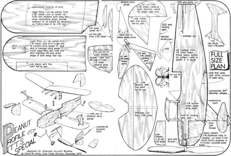 Profile kit/plans for a plane to fit my TD .010? Profil10