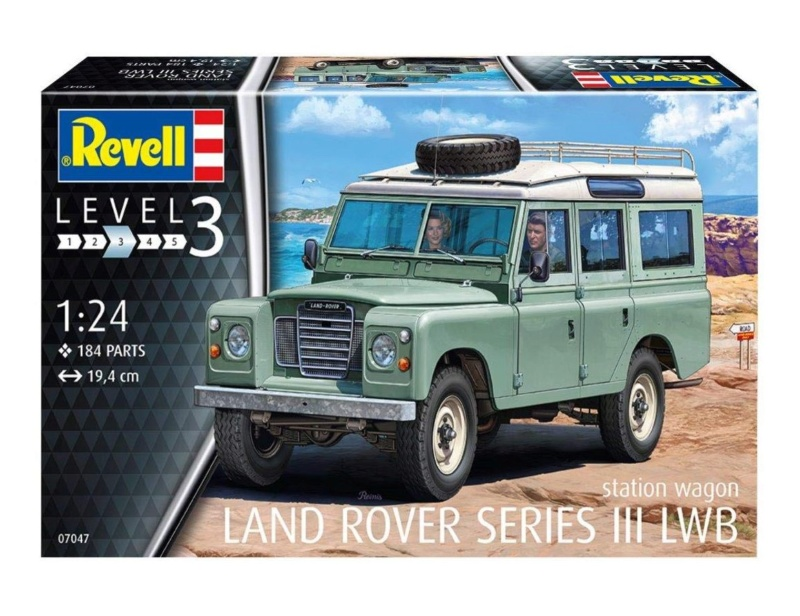 Land Rover Série III LWB, Revell 1/24 01395110