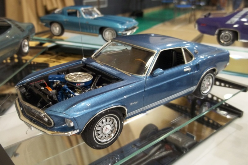1969 Ford Mustang GT, Revell 1/25 100_6214