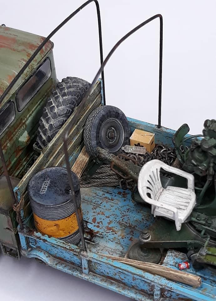 GAZ-66 avec canons ZU-23-2 à la sauce Taliban (Trumpeter 1/35) 1019