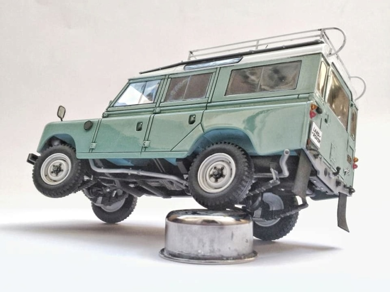 Land Rover Série III LWB, Revell 1/24 10962610