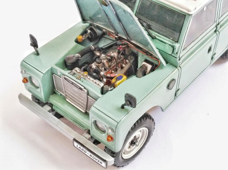 Land Rover Série III LWB, Revell 1/24 10972610
