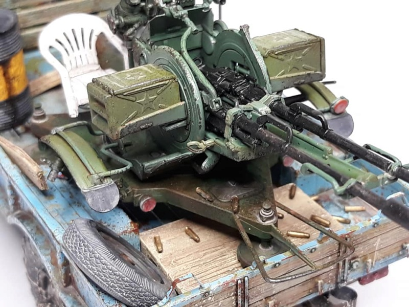 GAZ-66 avec canons ZU-23-2 à la sauce Taliban (Trumpeter 1/35) 1119
