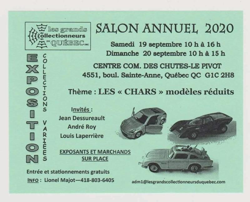 Salon Annuel des Grands Collectionneurs de Québec 2020 11884310