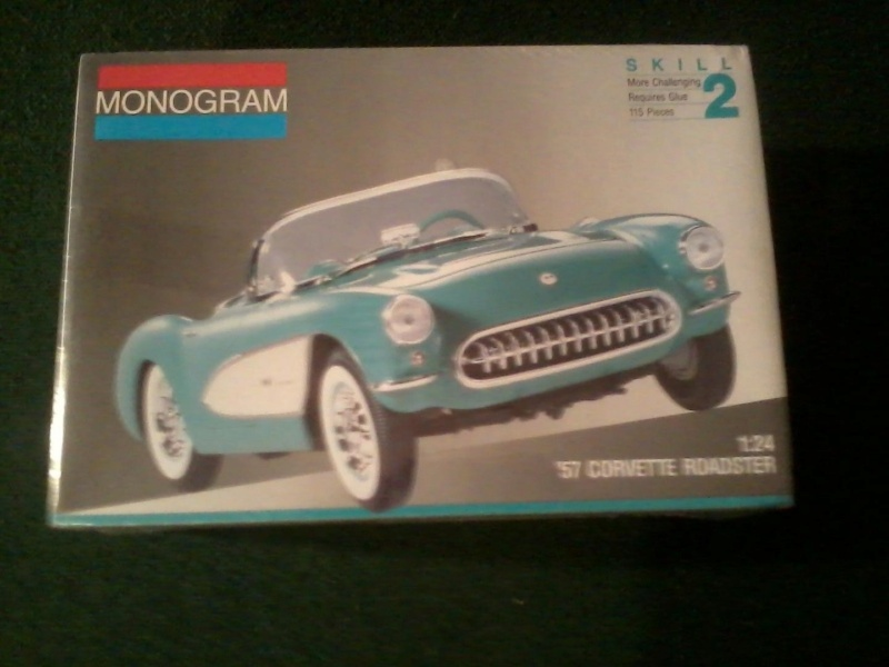 1957 Chevrolet Corvette, Monogram 1/24 120