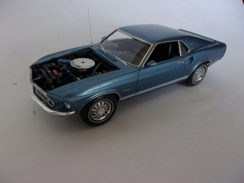 1969 Ford Mustang GT, Revell 1/25 121