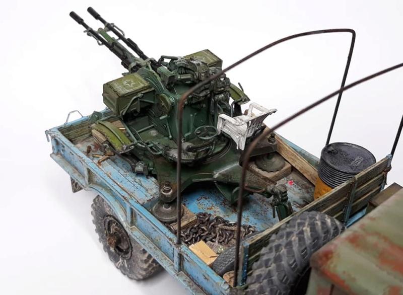 GAZ-66 avec canons ZU-23-2 à la sauce Taliban (Trumpeter 1/35) 1219