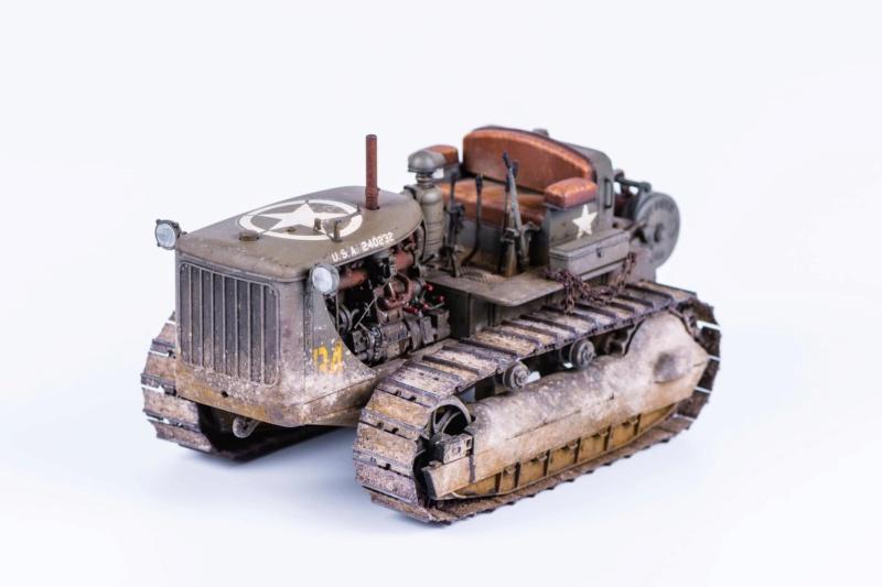 Tracteur militaire CAT D7N avec treuil de chez MiniArt 1/35 126