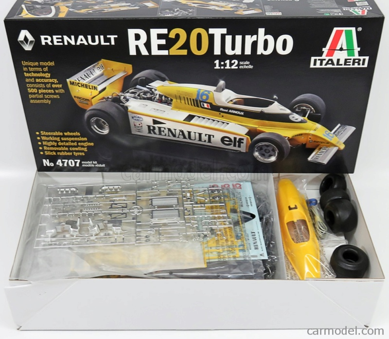 Renault RE20 Turbo F1 Italeri 1/12 12746510