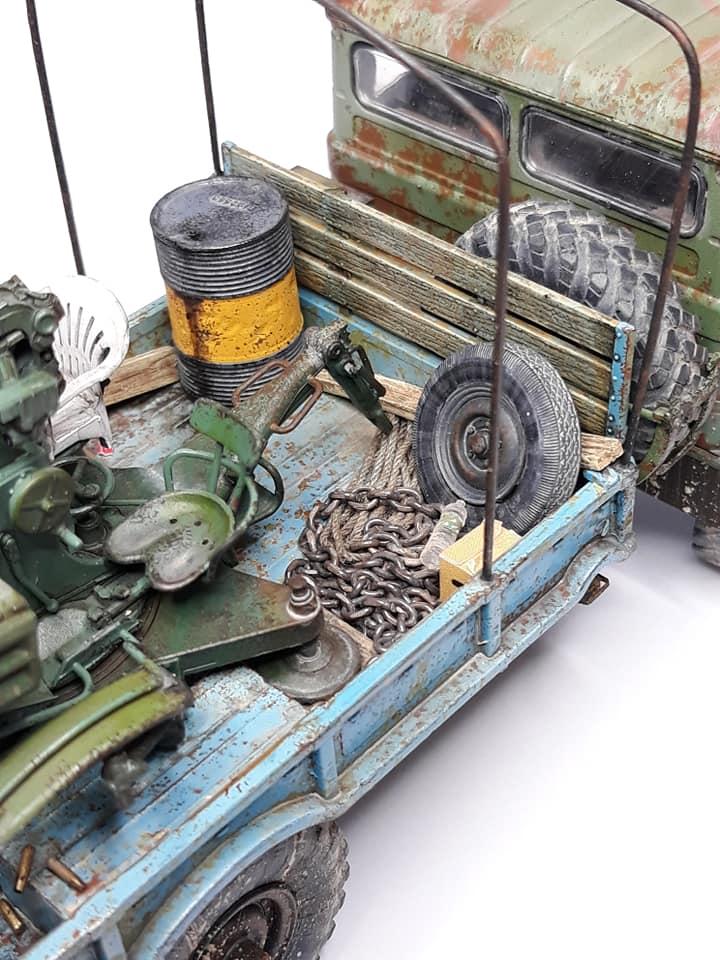 GAZ-66 avec canons ZU-23-2 à la sauce Taliban (Trumpeter 1/35) 1319