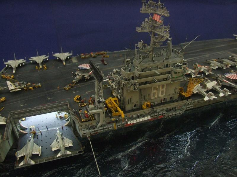 USS Nimitz CVN 68 de chez Trumpeter à l'échelle 1/350 13986410