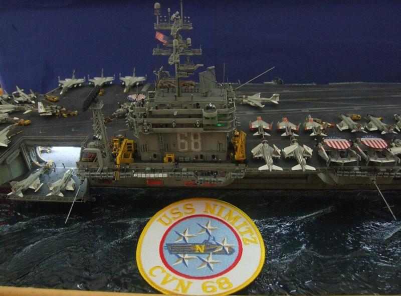 USS Nimitz CVN 68 de chez Trumpeter à l'échelle 1/350 14049710
